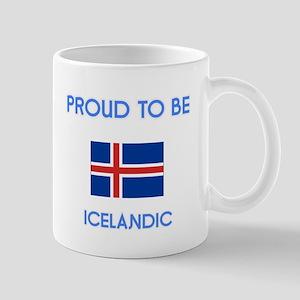 Proud to be Icelandic Mugs