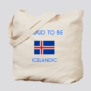 Proud to be Icelandic Tote Bag