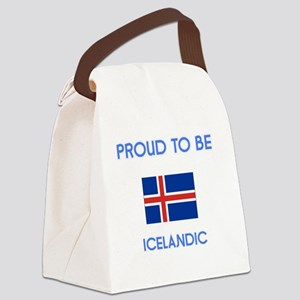 Proud to be Icelandic Canvas Lunch Bag