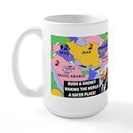 Bush and Cheney Safer World Large Mug