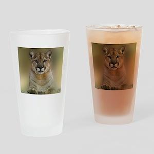 Puma Drinking Glass