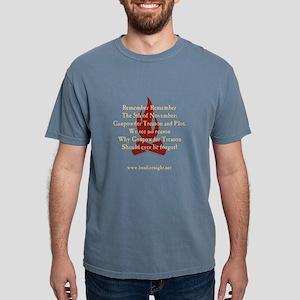 Remember Remember Black T - for T-Shirt