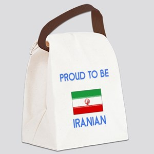 Proud to be Iranian Canvas Lunch Bag
