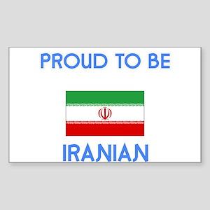 Proud to be Iranian Sticker