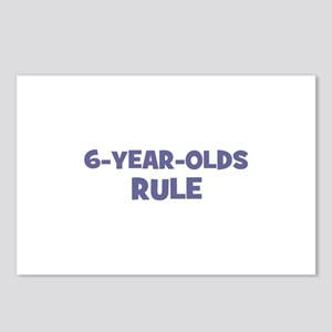 6-Year-Olds~Rule Postcards (Package of 8)