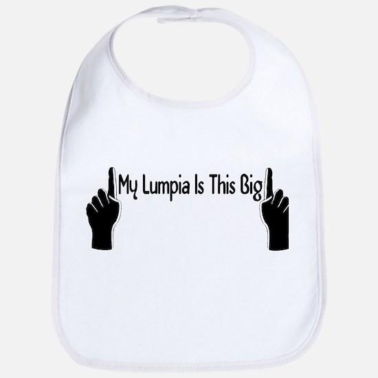 My Lumpia Is This Big Bib