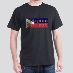Filipino Strength/Flag Dark T-Shirt