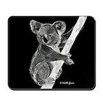 Midnight Koala Mousepad