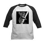 Midnight Koala Kids Baseball Jersey