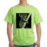 Midnight Koala Green T-Shirt