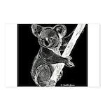 Midnight Koala Postcards (Package of 8)