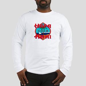 Hafa Adai Long Sleeve T-Shirt
