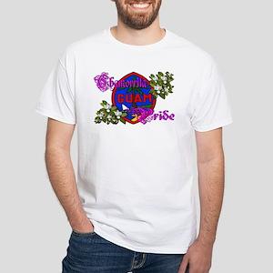 Chamorrita Pride White T-Shirt