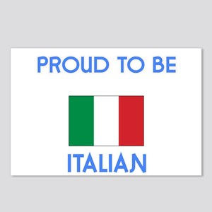 Proud to be Italian Postcards (Package of 8)