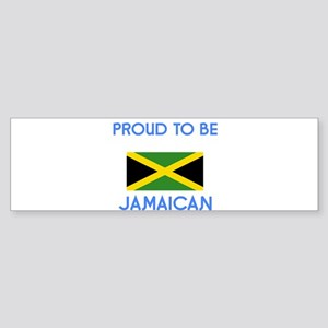 Proud to be Jamaican Bumper Sticker
