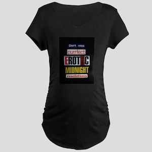 Erotic Midnight Maternity Dark T-Shirt