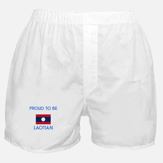 Proud to be Laotian Boxer Shorts