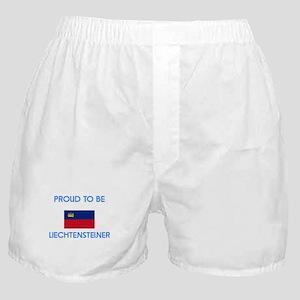 Proud to be Liechtensteiner Boxer Shorts