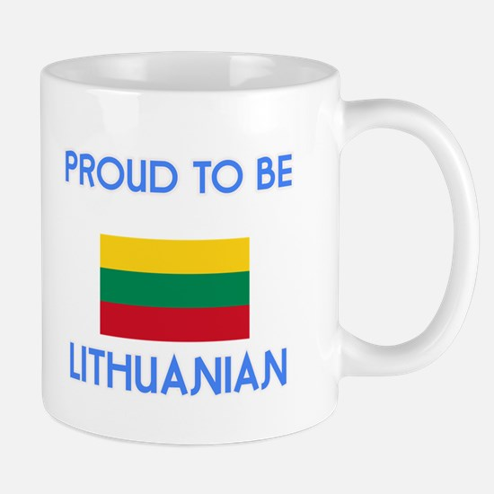 Proud to be Lithuanian Mugs