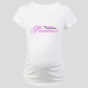 Coastie's Princess Maternity T-Shirt