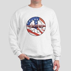 Peace the best war plan Sweatshirt