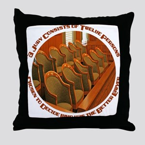 Jury Throw Pillow