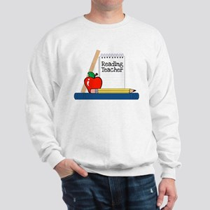 Reading Teacher (Notebook) Sweatshirt
