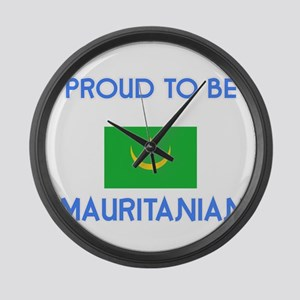 Proud to be Mauritanian Large Wall Clock