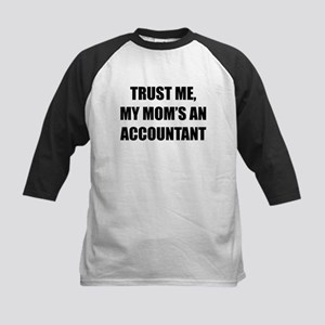 Trust Me My Moms An Accountant Baseball Jersey