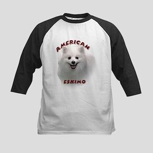 American Eskimo Kids Baseball Jersey