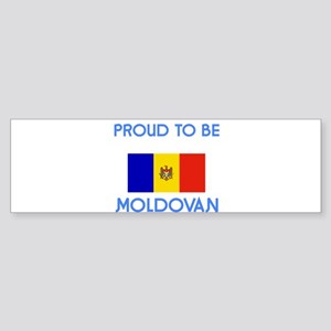 Proud to be Moldovan Bumper Sticker