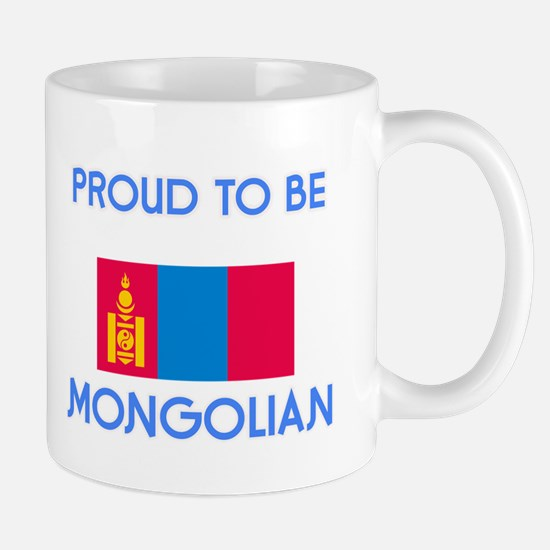 Proud to be Mongolian Mugs