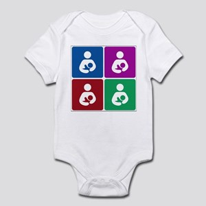 Pop Breastfeeding Icon Infant Bodysuit