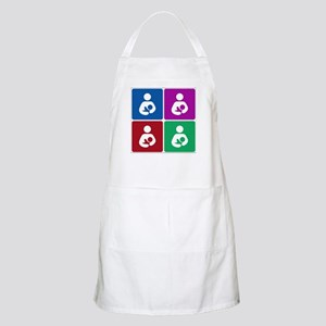 Pop Breastfeeding Icon BBQ Apron