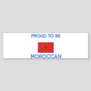 Proud to be Moroccan Bumper Sticker