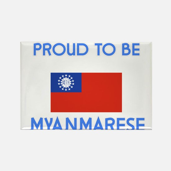 Proud to be Myanmarese Magnets
