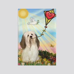 THE KITE / Havanese (#1) Rectangle Magnet