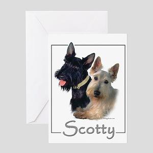Scotty Greeting Card