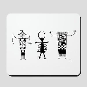 Petroglyph Peoples II Mousepad