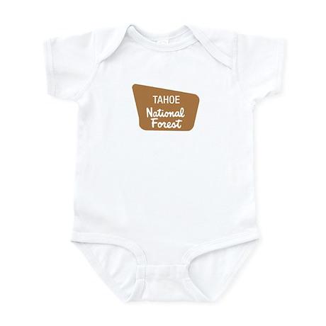 Tahoe National Forest (Sign) Infant Bodysuit