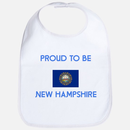Proud to be New Hampshire Baby Bib