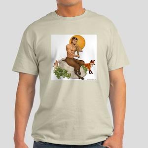 Satyr Playing Pan Pipes Light T-Shirt