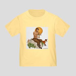 Satyr Playing Pan Pipes Toddler T-Shirt