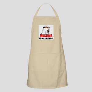MUSLIMS DO IT BBQ Apron
