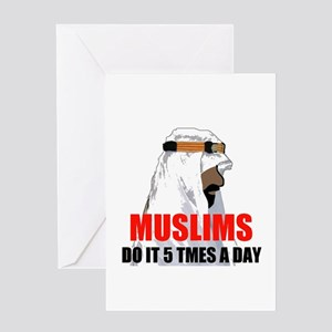 MUSLIMS DO IT Greeting Card