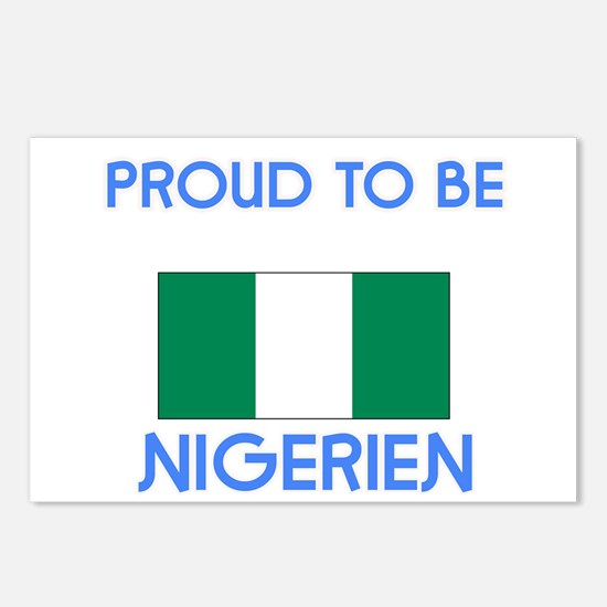 Proud to be Nigerien Postcards (Package of 8)