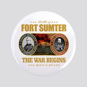 """Fort Sumter 3.5"""" Button"""