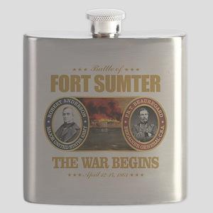 Fort Sumter Flask
