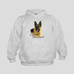 German Shepherd Dog-2 Kids Hoodie