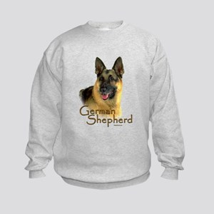 German Shepherd Dog-2 Kids Sweatshirt